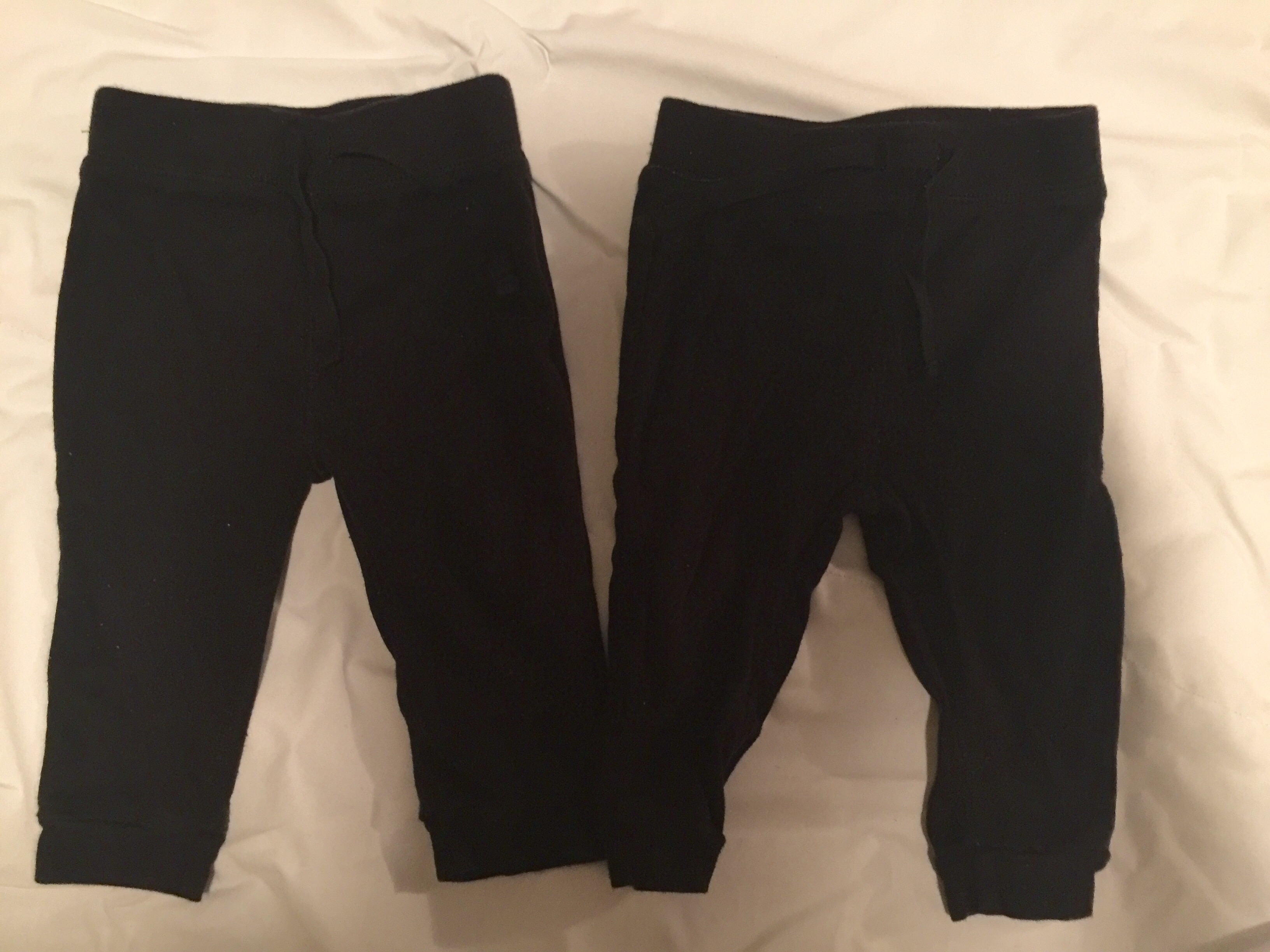 Matching Black Jogging Pants Twin Baby Bargains