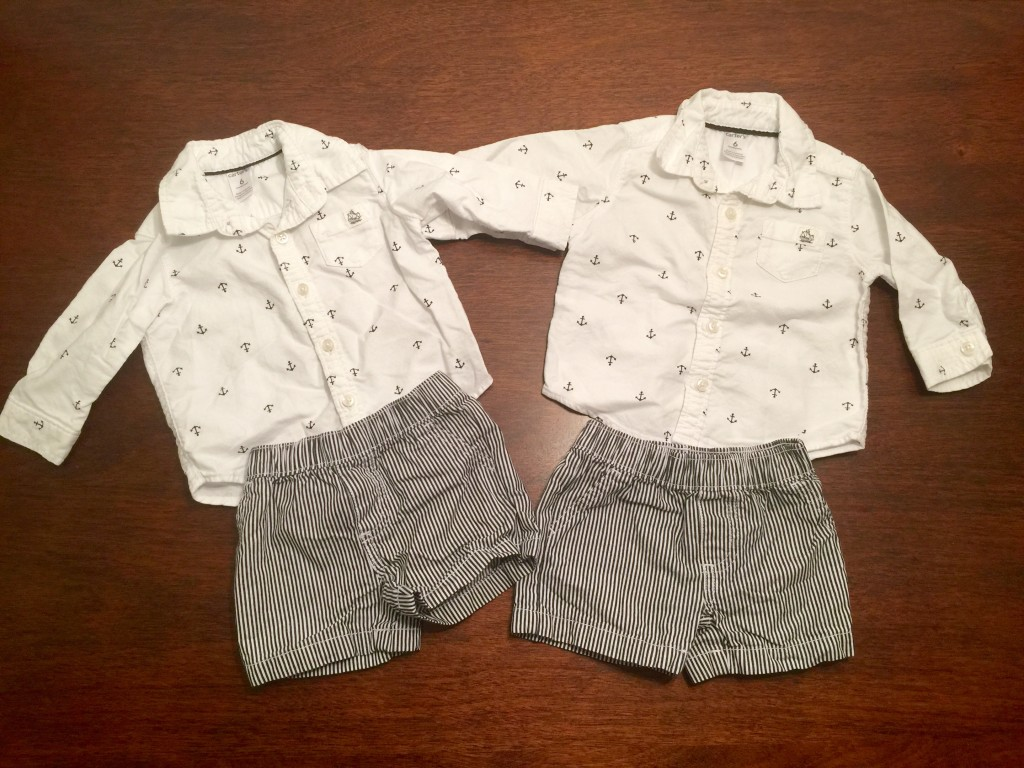 Matching Twin Boys Preppy Outfit Twin Baby Bargains