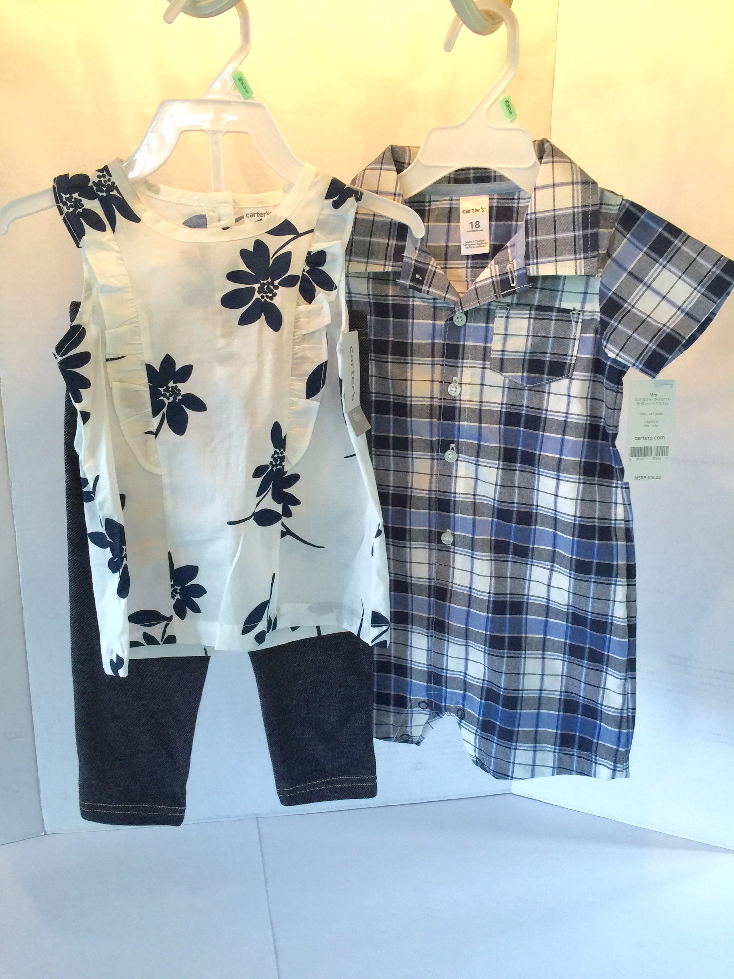 d4badd71c NWT 18 M, Boy/Girl Coordinating Outfits - Twin Baby Bargains