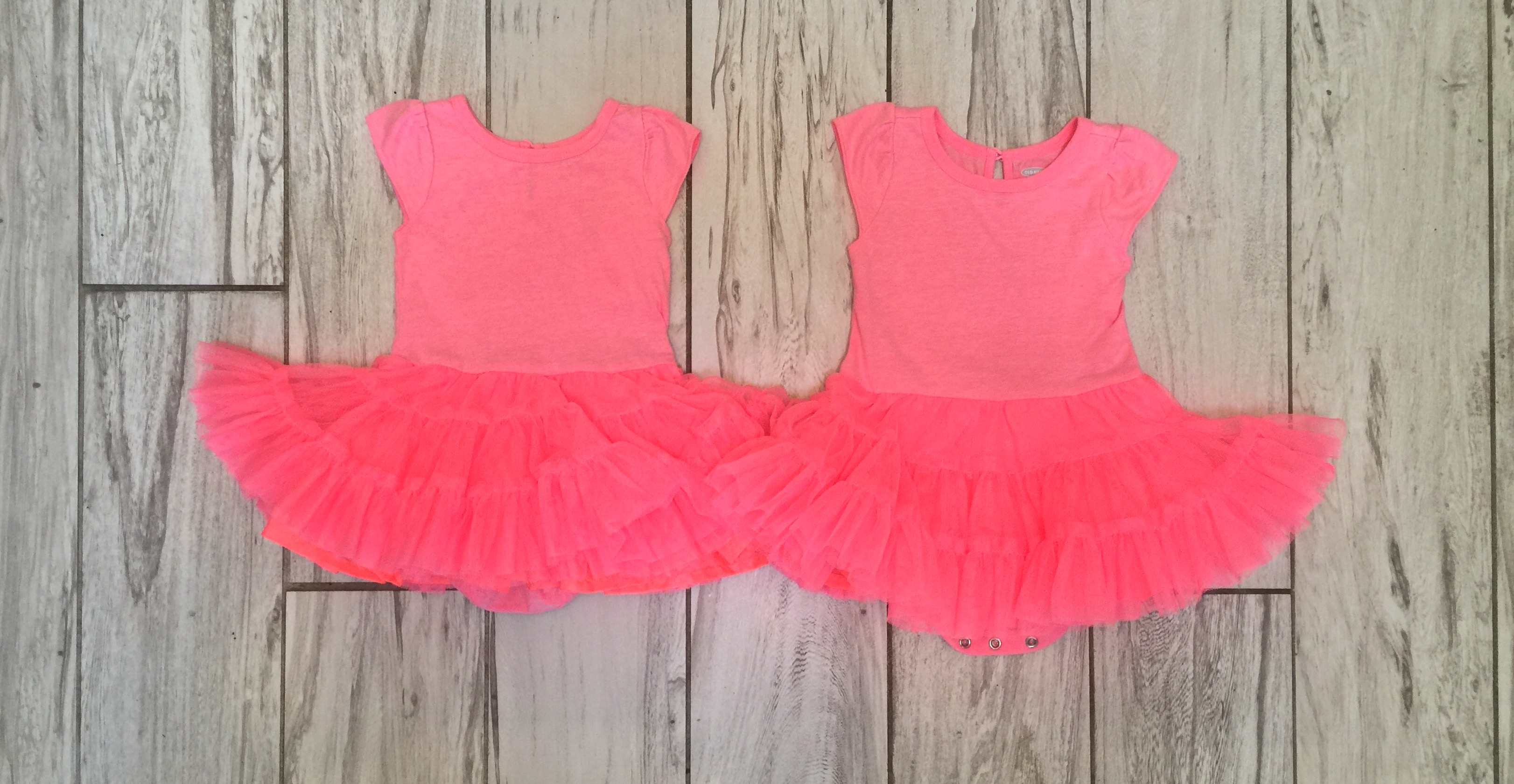 Hot Pink Tutu Dresses Twin Baby Bargains