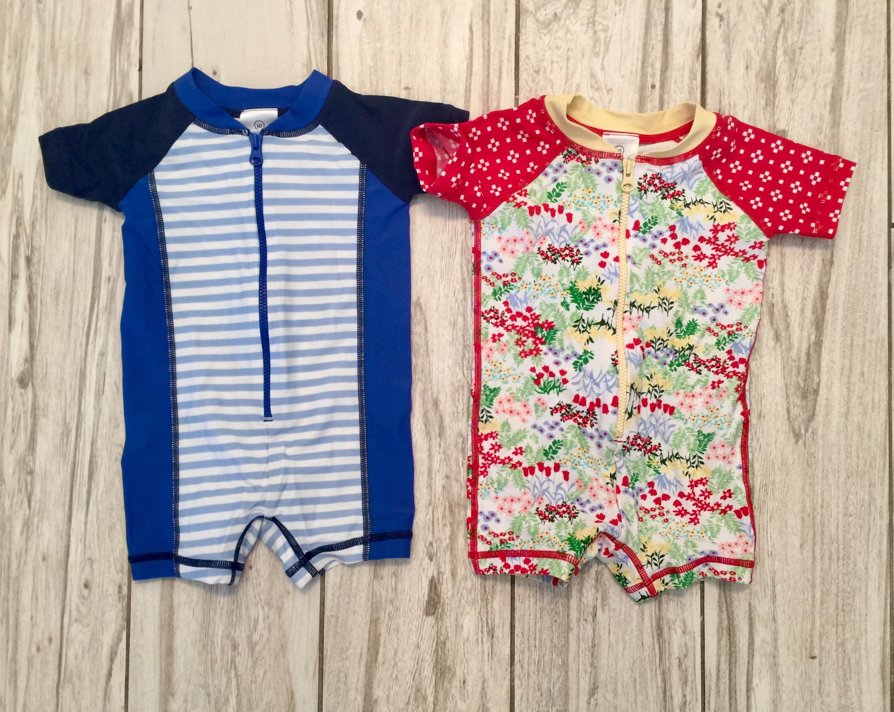 Hanna Andersson Baby//Toddler Sunblock Swimmy Rash Guard Suit